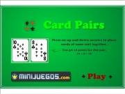 Game Card pairs