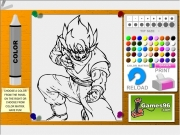 Game Dragon ball coloring03