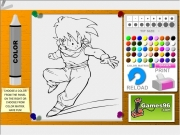 Game Dragon ball coloring07