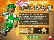 Backyard sports - basketball hot hand horse. HORSE 100% 24 DA GLOBE hula hoop crazy legs arm to big bounce straight up granny blind bat...