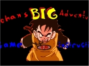 Dragon ballz. OBJECTIVE: Guide Gohan safely through his training CONTROLS Left & Right Arrow Keys Moves left and right Description CONTROL Key Chops your sword SPACE BAR Jumps Down Ducks blaster carrot GAME OVER TRY AGAIN? PLAY YOU WON !!!!!!!...