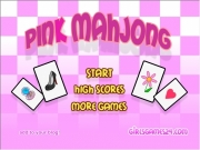 Game Pink mahjong
