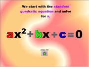 Quadratic equation....