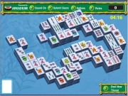 "Mahjong ggarden. Select your options and click Ok. Front view Perspective 0 userName 00:00 05% scoreboard.swf http://freeplay.gamedek.com/game_ends/ending_arkadium.swf Deal New Tileset Submit Score Sound On Off Options Rules - Click two matching tiles to remove them. Only free can be selected. Free are not covered by any other have a edge on the left or right side. There tilesets for each game. ""Deal Tileset..."