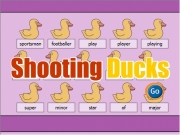 Shooting ducks....