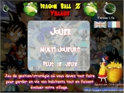 Game Dragon ball z village