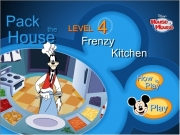 Game Pack the house level 4 - frenzy kitchen
