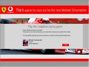 Vodafone racing game....