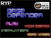 Base defender. 100% http://www.flashninjaclan.com presents http://www.java-gaming.com Score Lives: Name: Your name here Player Scores...