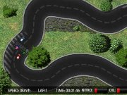 Miniracing b. http:// START time: SPEED: 0 km/h LAP:1 TIME: 00:00:00...