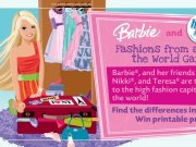 Game Barbie doll fashion
