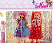 Game Barbie Mimi Puzzle