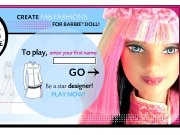 Game Barbie fashion design
