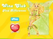 Game Winx club find diffenrences