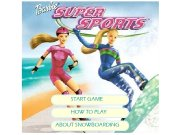 Game Barbie Snowboard