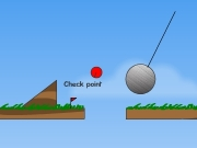 "Red ball platformer. Level 12: Sleep slope If you want to play 5 more levels, pleasego King.com and will start from level 13. 8: Car 15: Shop burglary $ 4: Axes ? Axes! =) Use Left/Right or A/D keys move Up W jump This is the goal 1: Move 13: Pakman 11: Train Get first cart! 17: The King Want games?Visit King.com! ""R"" restart 16: Short cut Wrong way! 6: Springboards ??? 3: Lifts thorns Danger! 9: Ninja on b..."