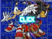 Game Sonic shadow jigsaw