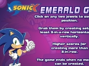 Game Sonicx emerald grab