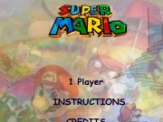 "Super mario. 0% 1 Player INSTRUCTIONS CREDITS Internet Version 1.0 Level Instructions To play the game follow these instructions:1.Move Mario with arrow keys.2.To fire press ""space"".To complete stage you must find this and then to go door.TIP:Follow arrows try explore whole stage!! space These are enemies:These things collect: This was produced belongs to:Thanos Entertainment company(R)Wavesoft stud..."