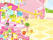 Play now Pink house dress up !