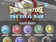 Strategy defense 3 -  he final war
