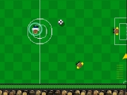 Footballer. cargando menu soccer 1.0 new game how to play sounds goto website http://www.superhere.net quit human 00 computer Number of players 0 1 2 3 4 cancel 5 6 7 8 9 10 11 12 13 14 15 16 17 number goals Rollover the desired player select itand move mouse make it walk Pres button increase energyrelease kick is not your friendtry defeat press a instead kickingto give ball another try with wisdom...