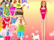 Game Mimi Barbie dress up