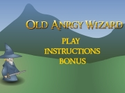 Game Old angry wizard
