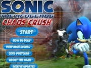 Game Sonic the hedgehog - chaos crush