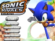 Game Sonic rivals dash