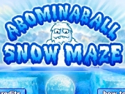 Abominaball snow maze. 0 s = -4 1 +10% x...