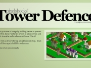 Tower defence. 12345678 0 Sniper Tower 5 $100 123 999999 0000000...