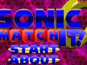 Game Sonic match it