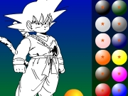 Game Dragon ball coloring