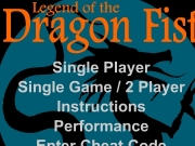Game The legend of the dragon fist