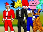Game Dragon Ball dress up