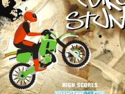 Bike stunt. PLAY MORE GAMES FREE FOR YOUR SITE loading... please wait START GAME HOW TO HIGH SCORES S T A R INSTRUCTIONS TIME: 9.59 SCORE: 123456 AGAIN SUBMIT SCORE? NAME...