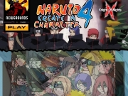 Game Naruto 4 - create a character