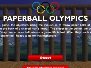 Game Paperball olympics