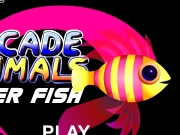 Arcade animals - super fish. LOADING GAME: 105K http://flashgamestudio.com SUPER FISH PLAY INSTRUCTIONS USE KEYBOARD ARROWS TO SWIM back SPACE BAR FOR TURBO MOVES When in the middle, space bar to dive on floor, jump PRESS DOWN STAY STILL ON THE FLOOR more twice quick SCORING GET THESE ITEMS BONUSES CHEST POINTS BEWARE OF +1 POINT +10 LIFE -1 (MULTIPLE) -5 BONEY ISLAND fish follow crabcol1 crabcol2 fishmov fruitcol1 fruitcol2...