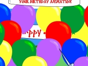 Game Your birthday animation