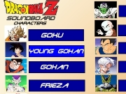 Game Dragonball Z soundboard