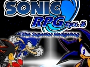 Game Sonic RPG - episode 8 - the superior hedgehog