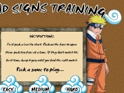 Game Hand signs training Naruto