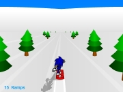 Sonic 3D snowboarding. HIGH SCORE CREDITSAnimation...The BloxCharacter & Music...(c) Sonic TeamSound Effects...findsounds.comflashkit.comSpecial Thanks...George MaendelPat WiebeDave CEeksTyiScytheAndreas (The Silver Eagle) The Blox Presents PRESS SPACEBAR TO START! SNOWING:SUNLIGHT:CLOUDS:FOG:FIRE: WEATHER... NONE LIGHT HEAVY DAY NIGHT WHITE DARK HOW PLAY When you board over aramp, press spacebar todo a trick. further ...