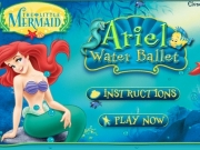 Ariel water ballet. loading 0% MUSIC : off on DANCE MOVES...