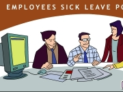 Game Employees sick leave policy animation