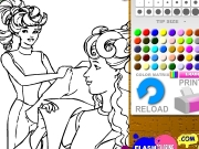 Barbie dressing coloring. http://www.flashcoloring.com...