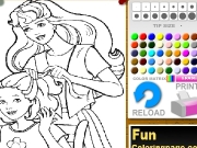Barbie and its son dress up. http://www.funcoloringpage.com...