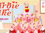 Game Barbie cake dress up